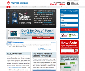 protect america screenshot